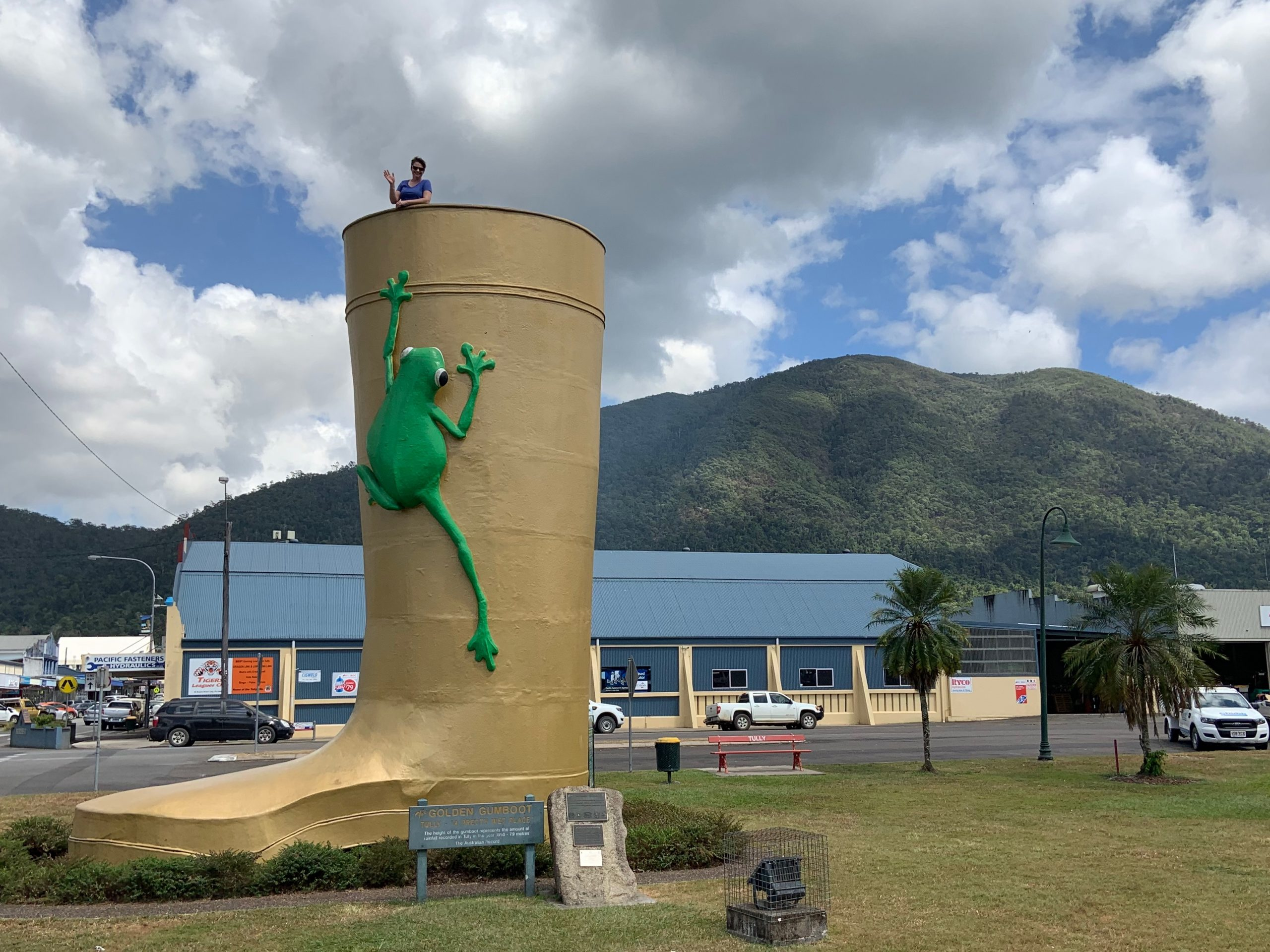 Golden Gumboot